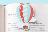 Hot Air Baloon Magnetic Bookmark-Craft.ph