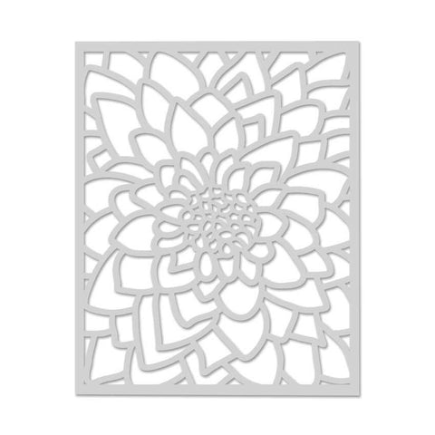 Large Flower Stencil-Craft.ph