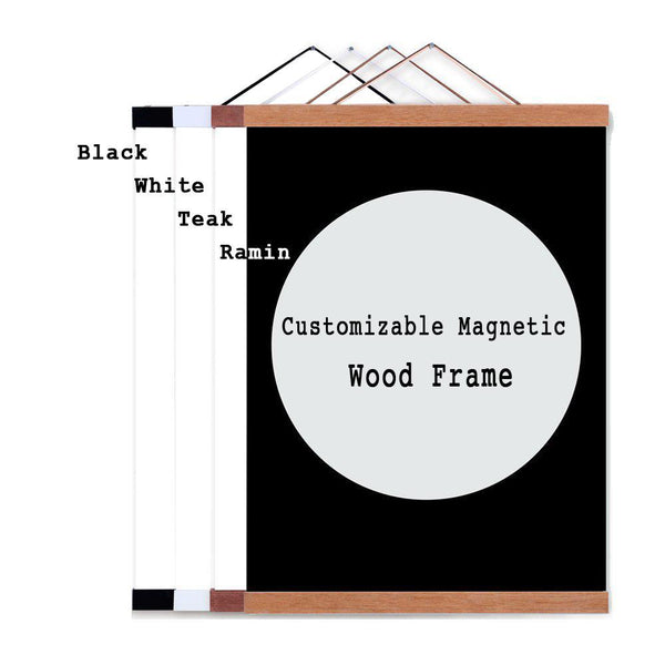 Magnetic Wood Frame-Craft.ph