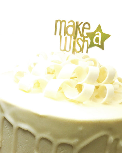 Make A Wish Topper-Craft.ph