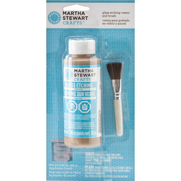 Martha Stewart Glass Etch Cream & Brush-Craft.ph