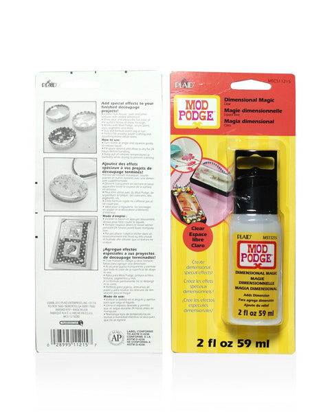 Mod Podge Dimensional Magic (2-Ounce), CS11215 Clear-Craft.ph