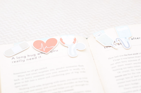 Nurse Magnetic Bookmark 5pcs set-Craft.ph