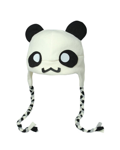 Panda Hat with Braids-Craft.ph