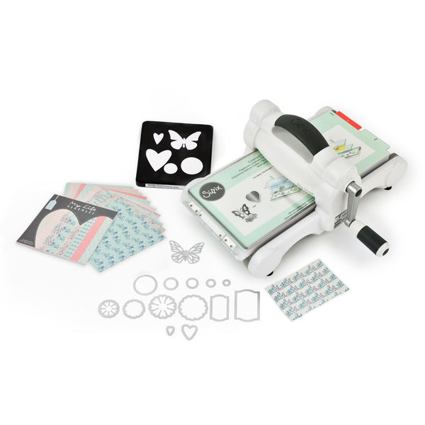 Sizzix Big Shot Starter Kit featuring My Life Handmade Card Stock & Fabric-Craft.ph