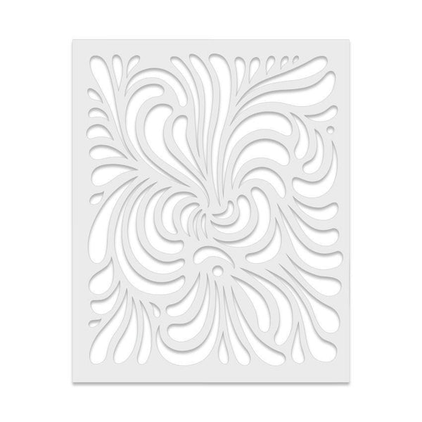 Swirl Stencil-Craft.ph