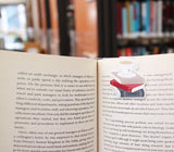 Tea on Books Magnetic Bookmark-Craft.ph