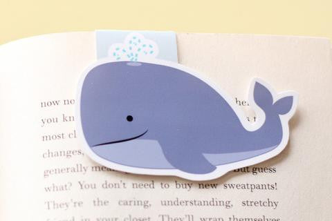 Whale Magnetic Bookmark-Craft.ph