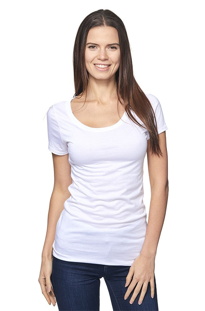 Bamboo Scoop-Neck Tee - Gone Rogue