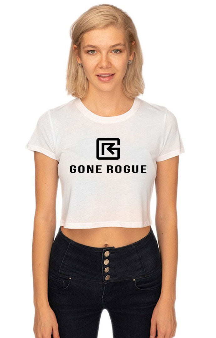 Boxy Crop Tee - Gone Rogue
