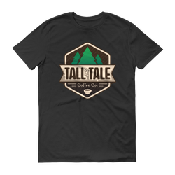 Tall Tale Coffee Black T- Shirt.