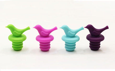BIRD SILICONE WINE STOPPER - EnoGeeks