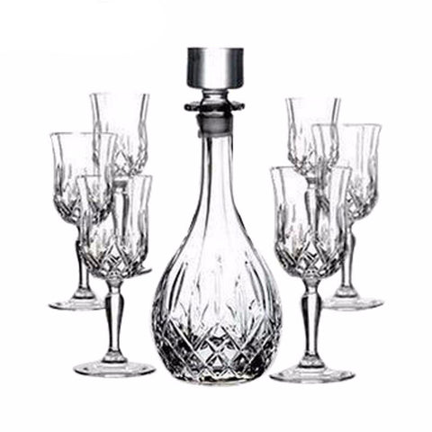 WINE GLASSES AND DECANTER SET - EnoGeeks