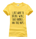 I JUST WANT TO DRINK WINE, SAVE ANIMALS AND TAKE NAPS - EnoGeeks