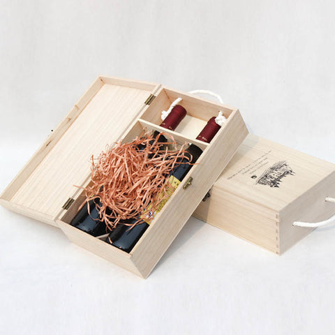 WOOD WINE GIFT BOX - EnoGeeks