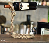 SUSPENSION ROPE WINE HOLDER - EnoGeeks