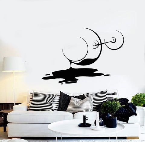 SPILLED WINE WALL STICKER - EnoGeeks
