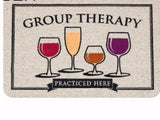 GROUP THERAPY DOORMAT - EnoGeeks