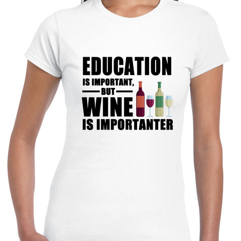 EDUCATION IS IMPORTANT BUT WINE IS IMPORTANTER - EnoGeeks