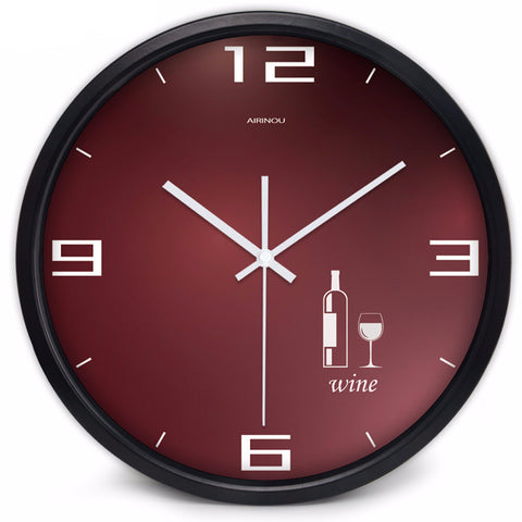 WALL CLOCK - WINE THEME - EnoGeeks