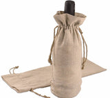 JUTE WINE BAG | 100 PIECES - EnoGeeks
