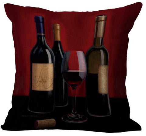 WINE BOTTLE CUSHION COVER - EnoGeeks