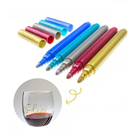WINE GLASS PENS - EnoGeeks