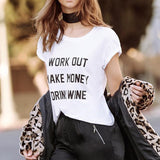 WORK OUT MAKE MONEY DRINK WINE - EnoGeeks