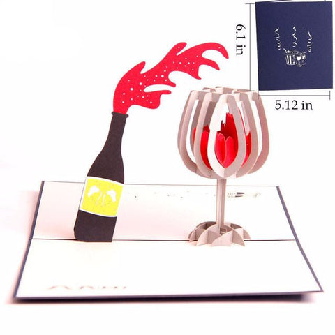 3D POP UP GREETING CARD - EnoGeeks