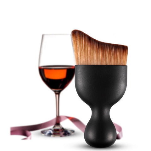 WINE GLASS MAKE UP BRUSH