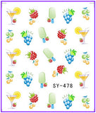 WINE NAIL STICKER | 6 PIECES - EnoGeeks