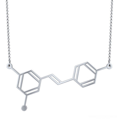 WINE MOLECULE NECKLACE - EnoGeeks