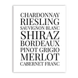 WINE PRINT | WALL ART