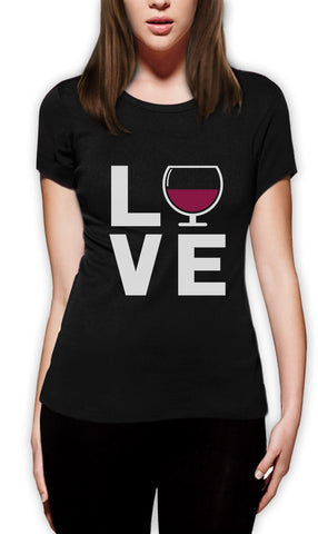 I LOVE WINE T-SHIRT - EnoGeeks