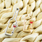 WINE BOTTLE DROP EARRINGS