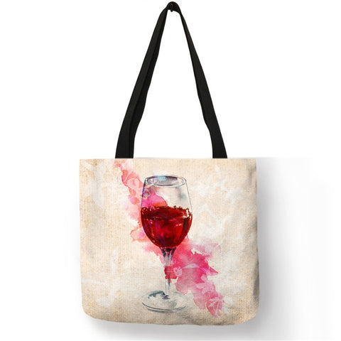 WINE SHOPPING TOTE BAG