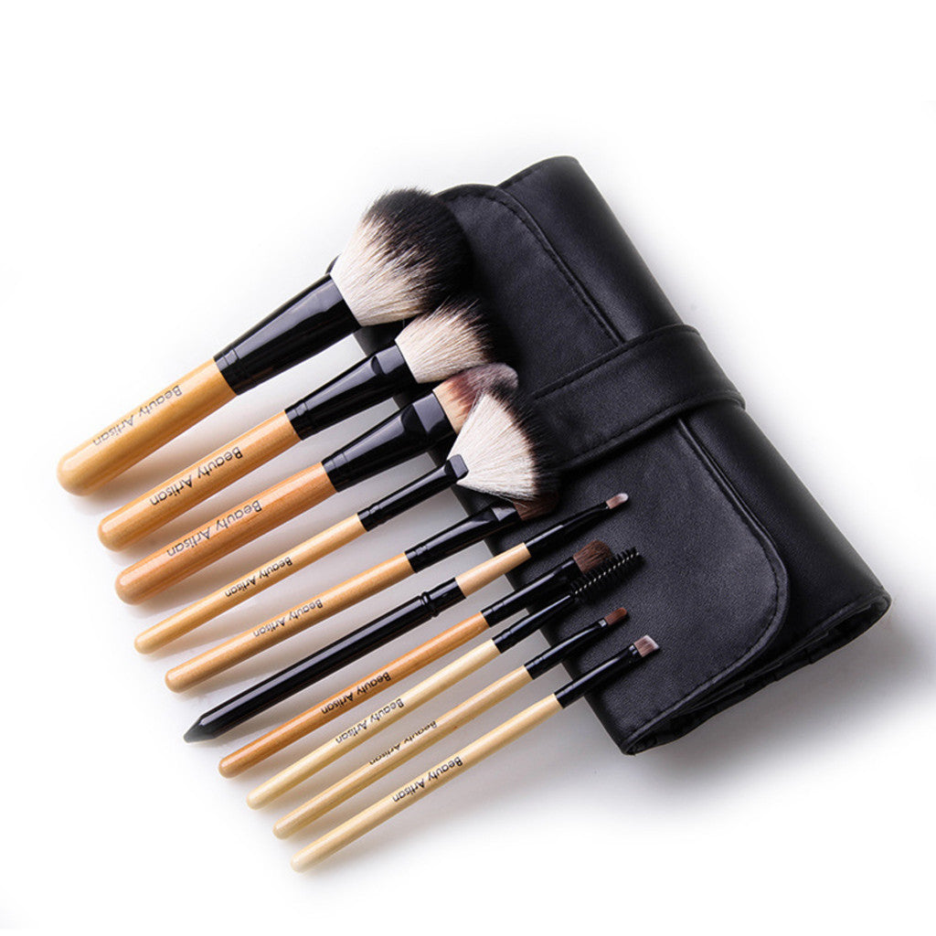 High-quality 10 pcs Animal Makeup Brush Set, 3 Colors to Choose. BA003