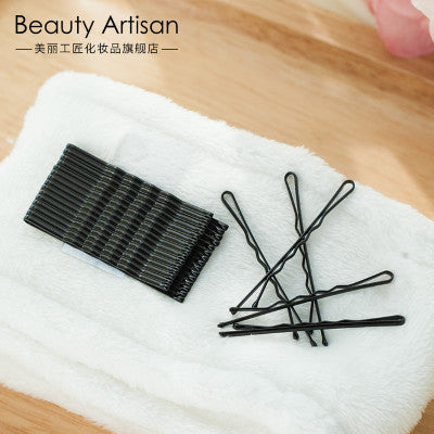 Black Steel Hairpin, 20 pcs/Bag. BA007