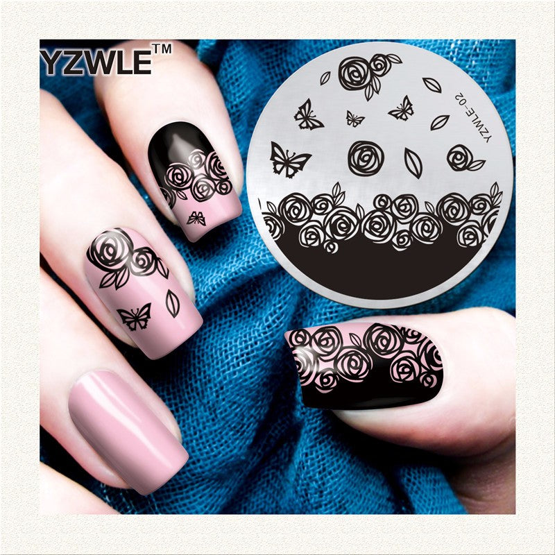 Beautiful Nail Stamping Plates Collections – Beautiful Girl NZ