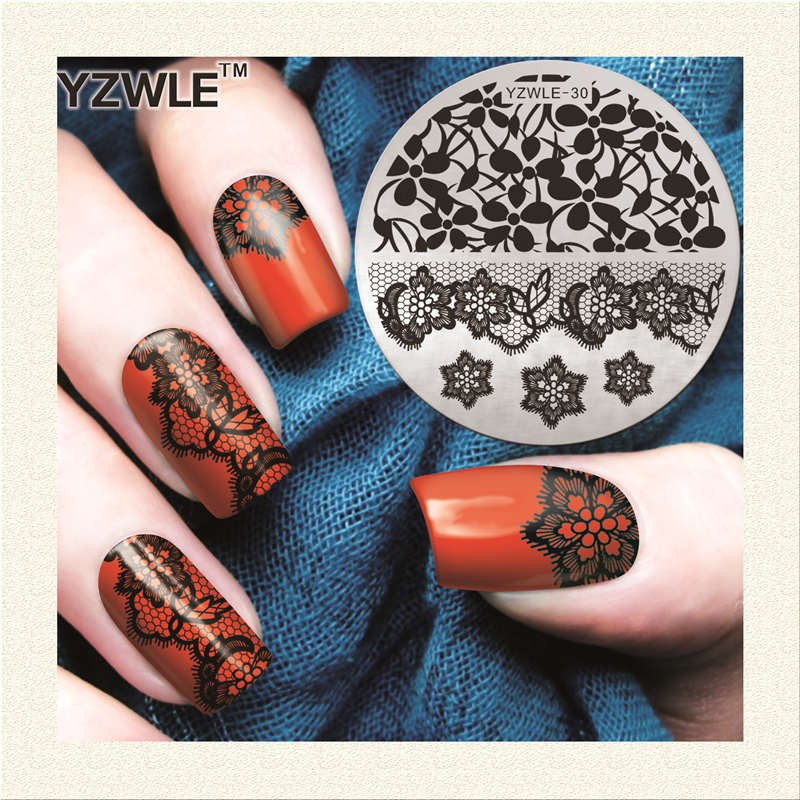 Nail Art Polish DIY, Nail Stamping Plates, 30+ Designs