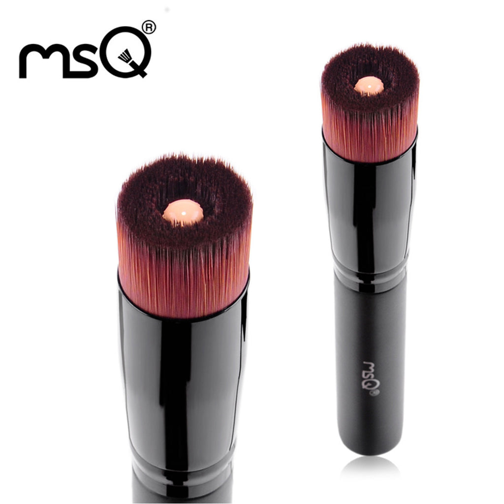 Professional Single Liquid Foundation Makeup Brush High Quality Make Up Brush Cosmetic Beauty Tool Wood Handle,MSQ012