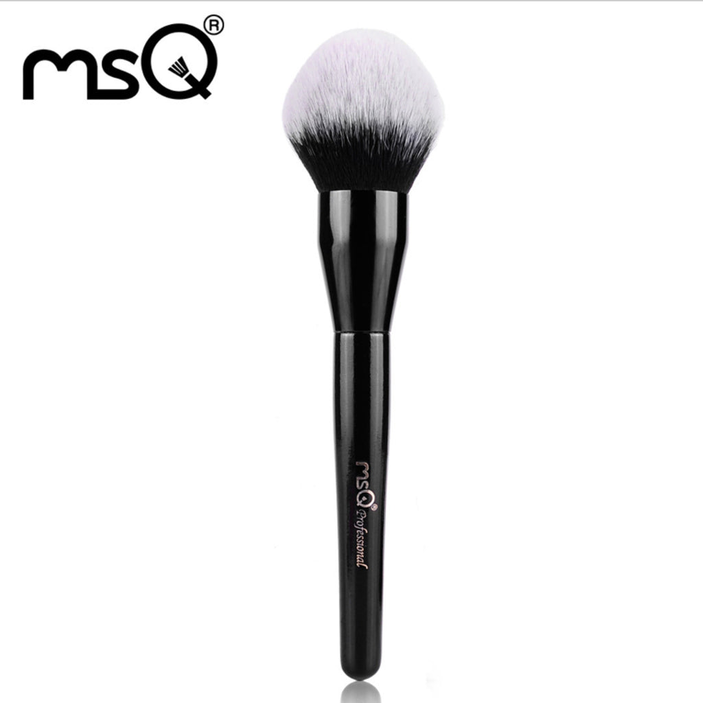 Single Big Powder Makeup Brush Black, MSQ014