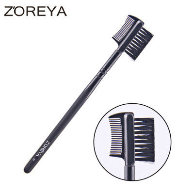 Double Function Eyebrow Comb Brush, ZY014
