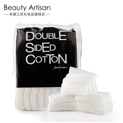 Double Sided Cotton Pad, Cleansing Cotton Pad, 100% Pure Cotton. 200pcs/bag, BA016
