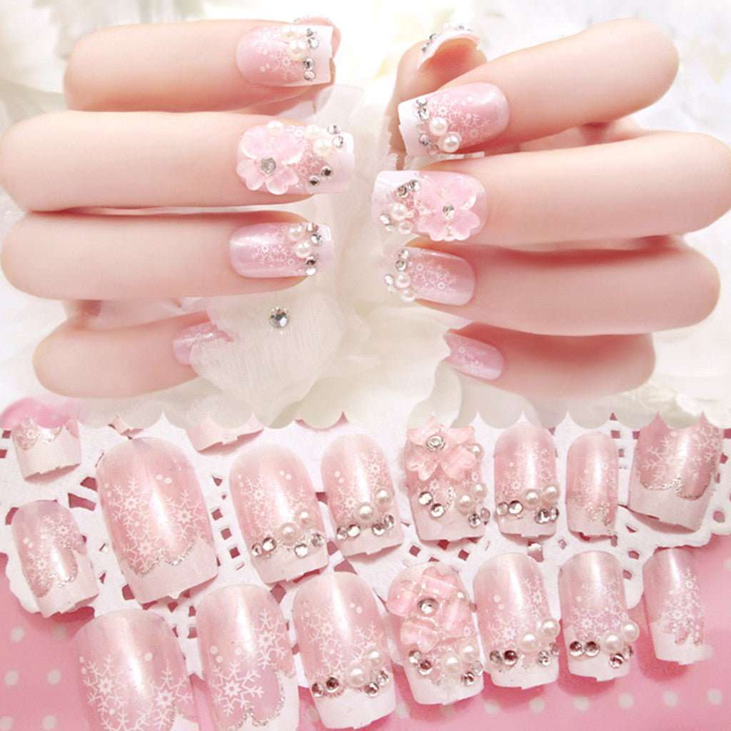 Fake Nails, 24pcs, YT004-13