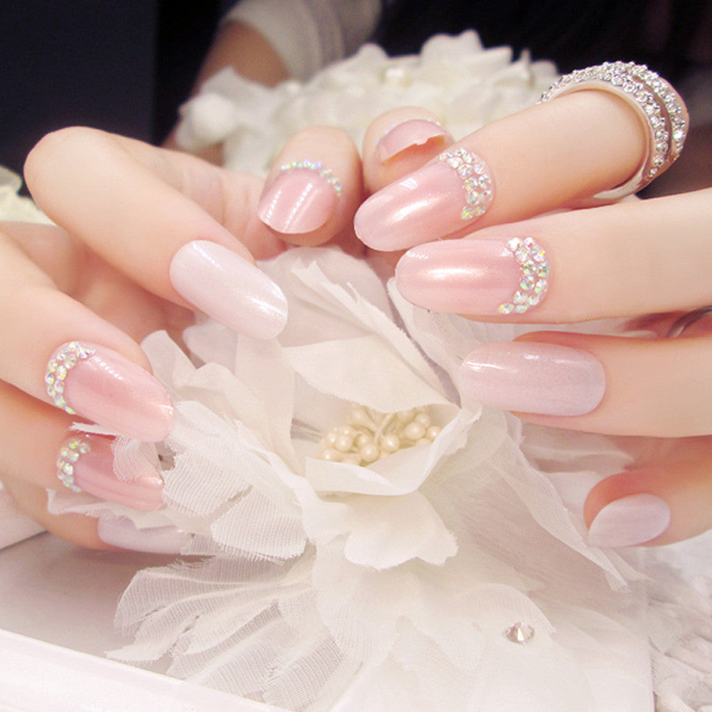 Fake Nails, 24 pcs/box, YT004-C1