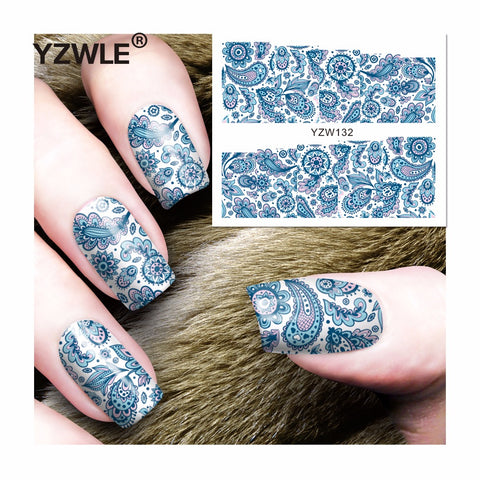 2018 New Nail Wrap, 3 designs