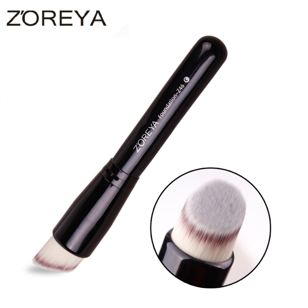 Oblique style foundation brush top quality BB cream concealer brush, ZY009