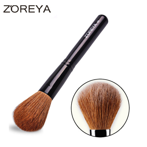Natural Goat Hair Powder Brush Superior Mineral Blush Brush,ZY013