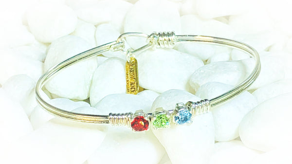 Earth Grace Custom Birthstone Mid Sized Bracelet